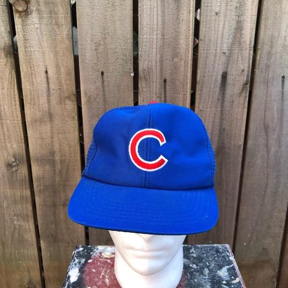 MLB Other - Vintage MLB Chicago Cubs Men's Snapback